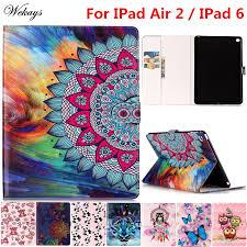 <b>Wekays For Apple IPad</b> Air 2 Cartoon Leather Flip Fundas Case For ...