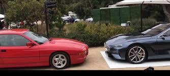 Video: BMW 8 Series Concept Designer Meets Original in the Metal