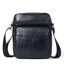 mens leather cross shoulder bag