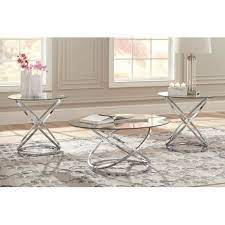 This will assist to decide everything to get along with what theme to go for. Hollynyx Chrome Finish Occasional Table Set 3 Cn