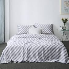 super soft 100 tencel silk bed sheet set luxury bohemia bedding set queen king size modern grey blue bed linen duvet cover solid duvet covers bedroom linens