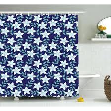 hawaiian shower curtain hawaii curtains summer island flowers print for tropical shower curtains
