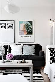 black u0026 white striped rugs