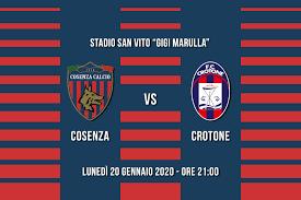 Cosenza - Crotone, info prevendita - Sito ufficiale del ...