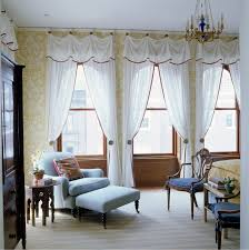 living room curtains with valance. Living Room Curtains Decorating Ideas With Different Style White Brown Swag Valance N