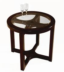 Round End Tables With Glass Top Awesome On Table Ideas Or By Magnussen Home  ...