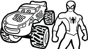 Mcqueen Coloring Pages Lightning Coloring Page Cars 2 Coloring Pages