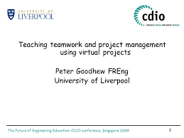 The Future Of Engineering Education Cdio Conference
