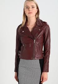 yas yascinna leather jacket women clothing jackets decadent chocolate