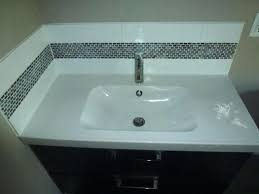 Bathroom Sink Tile Backsplash Home Depot Bathroom All Home Ideas ...