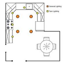 How To Arrange Recessed Lighting (general And Task). Recessed Lighting  LayoutKitchen ...