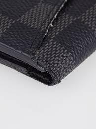 louis vuitton damier graphite canvas pocket organiser nm wallet