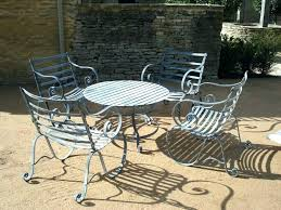 metal outdoor patio furniture french style patio re decoration quality garden small metal outdoor table and