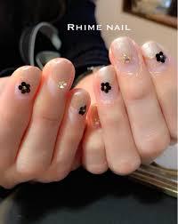ホロフラワーで上品nail ご来店ありがとうございました Rhime