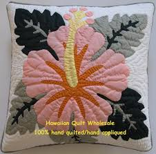 hibiscuspeach_1.jpg & Hibiscus-PE<br>2 pillow covers Adamdwight.com