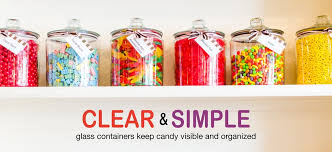 heritage hill glass jars and glass penny candy jars
