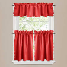 Red And Yellow Kitchen White Kitchen Curtains Modern Kitchens As Modern Kitchen Curtains