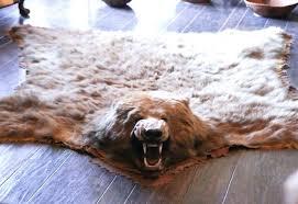 fake animal rug faux bear skin rug with head rug ideas for faux bear skin fake