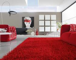 Living Room Rugs Modern Living Room Awesome Modern Living Room Rug Ideas With Red Shag