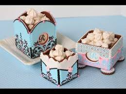 Decorative Cookie Boxes How to Assemble 100D Cookie Boxes The Basics YouTube 1