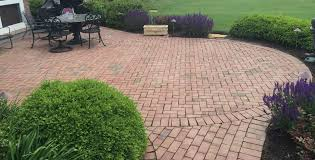 brick paver and stone patio cleaning