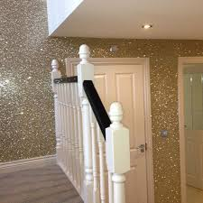 bedroom paint and wallpaper ideas. one glitter wall. for closet or vanity room. bedroom paint and wallpaper ideas