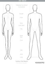 Body Outline Template Printable Human Body Outline Template