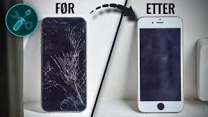 bytte skjerm iphone 6 oslo