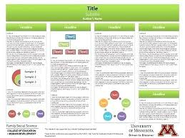 Science Poster Template Free Inspirational Research Academic