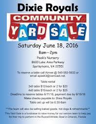 Yard Sale Flyer Telemedia Broadcasting