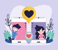 cute and boy smartphone screen