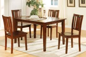 Small Dining Table Set For 4 Set Of 4 Dining Chairs Chichester 115cm Solid Oak Dining Set 4