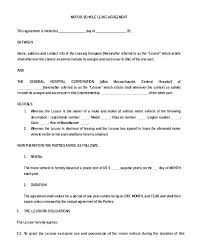 Simple Residential Lease Agreement Template Free Apartment Lease