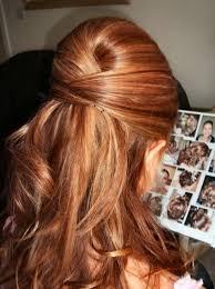 half up half down hairstyles wedding. highlighted bouffant half up down hairstyle for wedding hairstyles