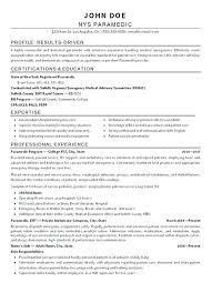 emt resume samples emt resume template resume no experience paramedic writing resume