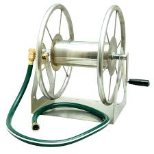 garden hose carts with wheels reel box reels for storage cart water ca liberty metal