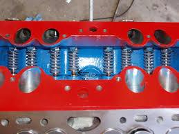 flathead engine rebuild valvetrain valve assy