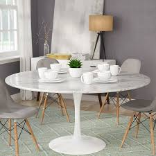 langley street julien artificial marble round dining table reviews pertaining to ideas 2