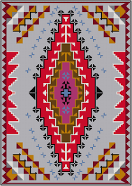 navajo rug patterns. This Cross Stitch Pattern Features A Design Taken From Vintage Navajo Rug. Rug Patterns 1