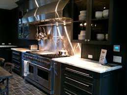Divine Grey Cabinetry Kitchen Set Also Chrome Panel Appliances Feat Cool  White Granite ...