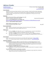 Career Objective For Resume For Software Engineers Free Download