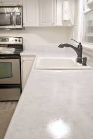 re do counter tops to look like granite this blogger had excellent