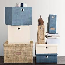 home office storage boxes. Canvas Home Office Storage - West Elm Boxes I
