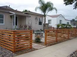 front yard fence. Decorating Marvelous Front Yard Fence Ideas 2 Stunning Top Horizontal Fencing Best Pict Of Landscaping With