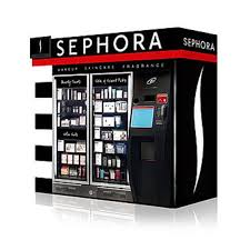Electronic Vending Machine Locations New Beauty Vending Machine Kiosks At The Airport InStyle