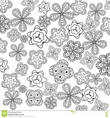 Relaxing Coloring Page With Flowers For Kids And Adults, Art ...