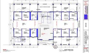 Pole Barn House  Milliganu0027s Gander Hill FarmBarn Plans With Living Quarters Floor Plans