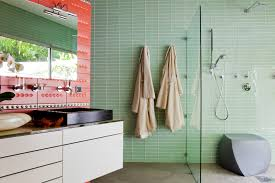 bathroom glass tile bathroom modern with brooklyn interior clear glass
