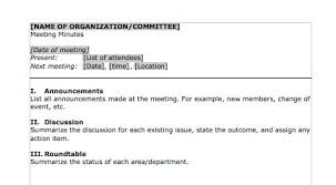 Examples Of Minutes Taken At A Meeting 20 Handy Meeting Minutes Meeting Notes Templates