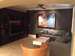 flat screen tv on wall with surround sound. photo of mobile masters - las vegas, nv, united states. vic installed the flat screen tv on wall with surround sound r